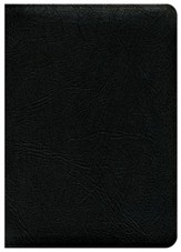 KJV Thompson Chain-Reference Bible, Handy Size, Black  Genuine Leather, Capri Grain