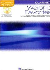 Worship Favorites: Clarinet Solo with CD