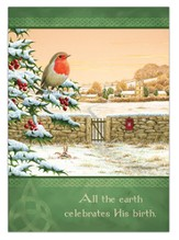 Irish All the Earth Celebrated Christmas Card, Box of 25