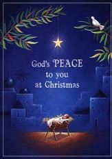 God's Peace to you Christmas Card, Box of 25