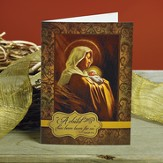 Madonna and Child Christmas Cards, Package of 25
