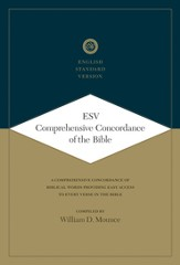 ESV Comprehensive Concordance of the Bible