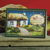 Irish Cottage Christmas Cards, Package of 25