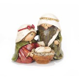 Holy Family Figurine, 3 Inches