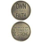 Own Your Faith Pocket Stone