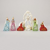 Bible Verses Nativity Set, 7 Pieces