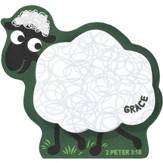 Grace, Lamb Magnetic Sticky Notes