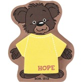 Hope, Bear Magnetic Sticky Notes