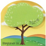 Faith, Tree Magnetic Sticky Notes