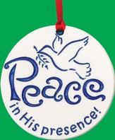 Peace In His Presence, Porcelain Ornament