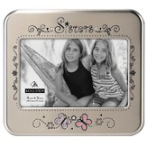 Sisters Photo Frame with Butterflies