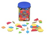 Pattern Blocks/Plastic Bucket