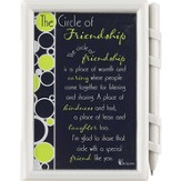 Circle of Friendship Memo Pad and Pen