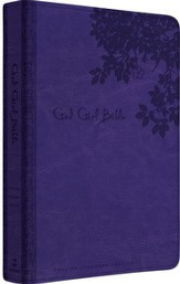 ESV God Girl Bible, Imitation Leather, Purple  - Slightly Imperfect