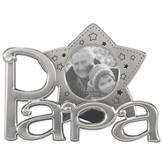 Papa Star Photo Frame