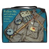 Follow Me Fisherman's Bible Cover, Large