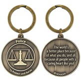 Police, A Caring Heart, Keyring