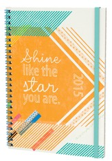 2015 Shine Like the Star You Are, 16 Month Planner