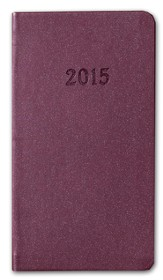 2015 Weekly Pocket Planner, Purple