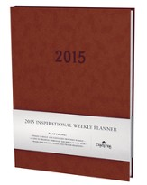 2015 Weekly Planner, Brown