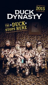 2015-16 Duck Dynasty, The Duck Stops Here, 28 Month Planner