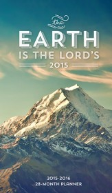 2015-16 Earth Is the Lord, 28 Month Planner