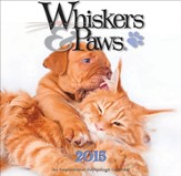 2015 Whiskers and Paws Wall Calendar