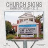 2015 Church Signs Wall Calendar