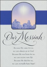 Our Messiah Cards, Box of 18