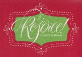 Rejoice Christ Is Born Cards, Box of 18
