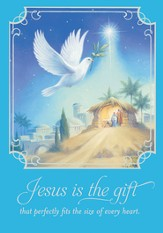 Jesus Is the Gift Cards, Box of 18
