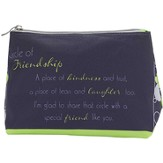 Circle of Friendship Cosmetic Bag
