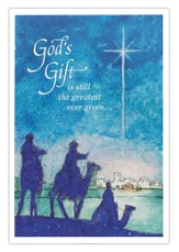 God's Gift Is Still the Greatest Ever Given Cards, Box of 18