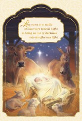 Love Came To A Stable Cards, Box of 18