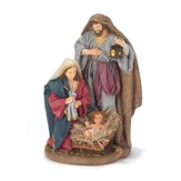 Holy Family Figure, with Burlap