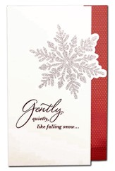 Snowflake, Gently, Quietly, Like Falling Snow Cards, Box of 18