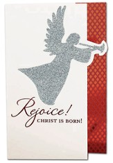 Angel, Rejoice Christ Is Born Cards, Box of 18