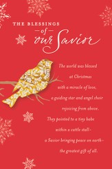Snowbirds Keepsake Cards, Box of 16