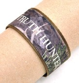 Truth Hunter Canvas Bracelet