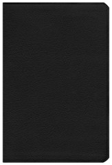 ESV Gospel Transformation Bible--calfskin leather, black