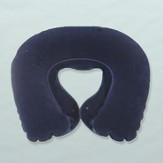 Inflatable Neck Pillow (Blue)