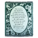 Lord Is My Shepherd Throw