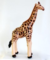 Small Giraffe Inflatable Lifelike Animal 36 High