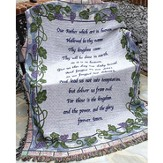 The Lords Prayer Throw