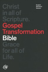 ESV Gospel Transformation Bible (Black)
