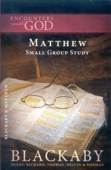 Matthew: A Blackaby Bible Study Series - eBook