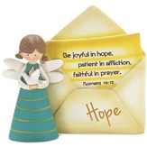 Hope Angel with Envelope Figurine