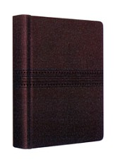 ESV Journaling Bible--soft leather-look, coffee