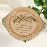 Irish Blessing Christmas Plate