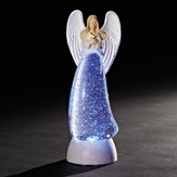 Angel Figure, LED Swirl